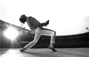 Freddie Mercury, Wembley Stadium, England