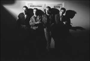 The Clash after a press conference announcing a concerts in New York