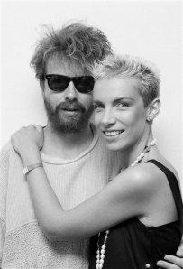 Annie Lennox and Dave Stewart 1984